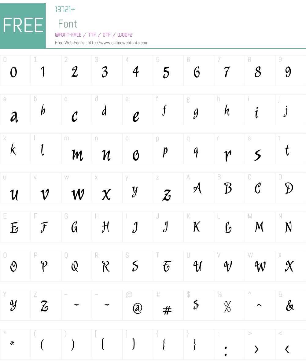 Murga Font Screenshots