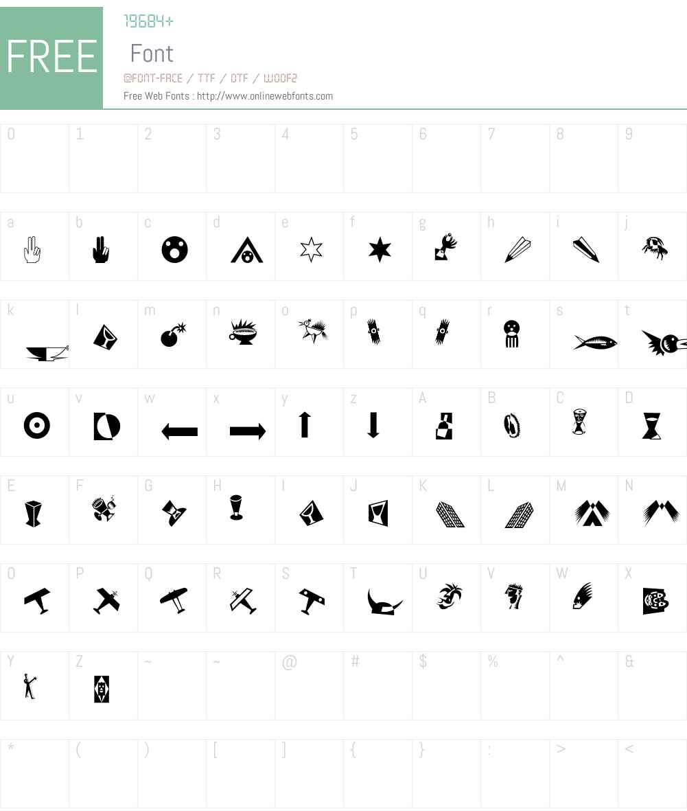 IlFuturismo Font Screenshots