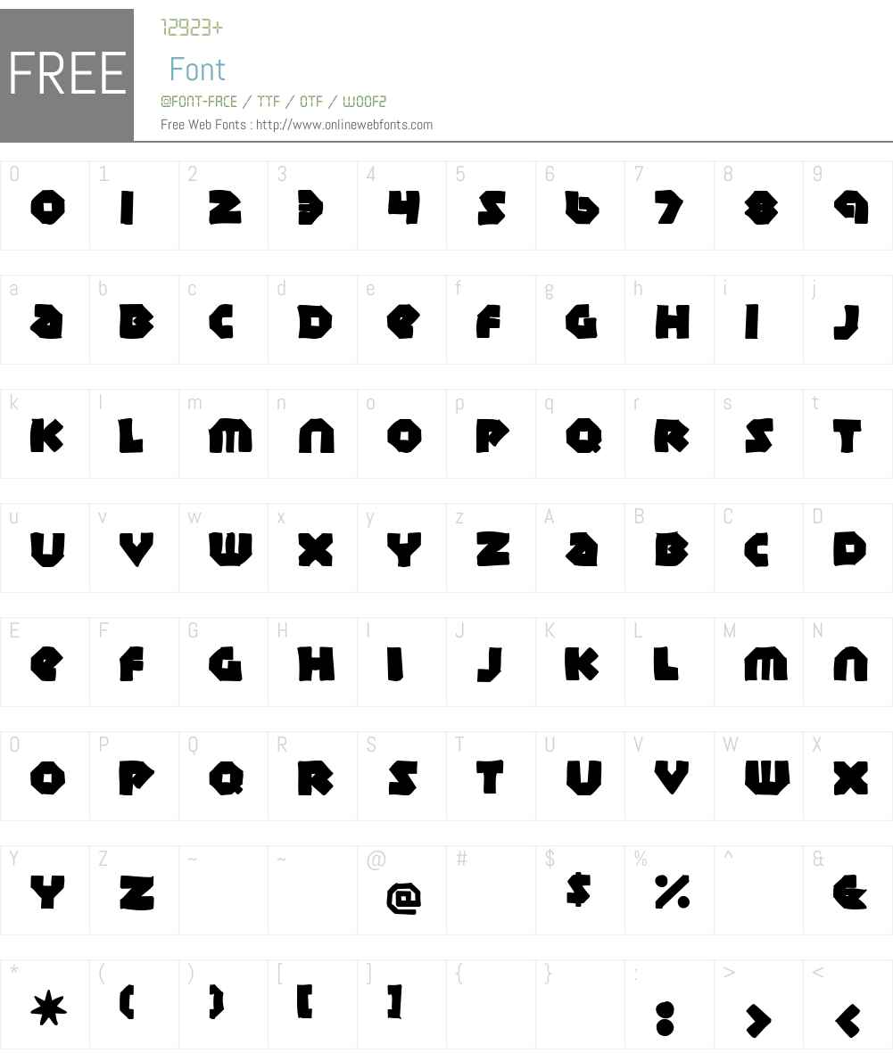 Sudbury Basin Ink Font Screenshots