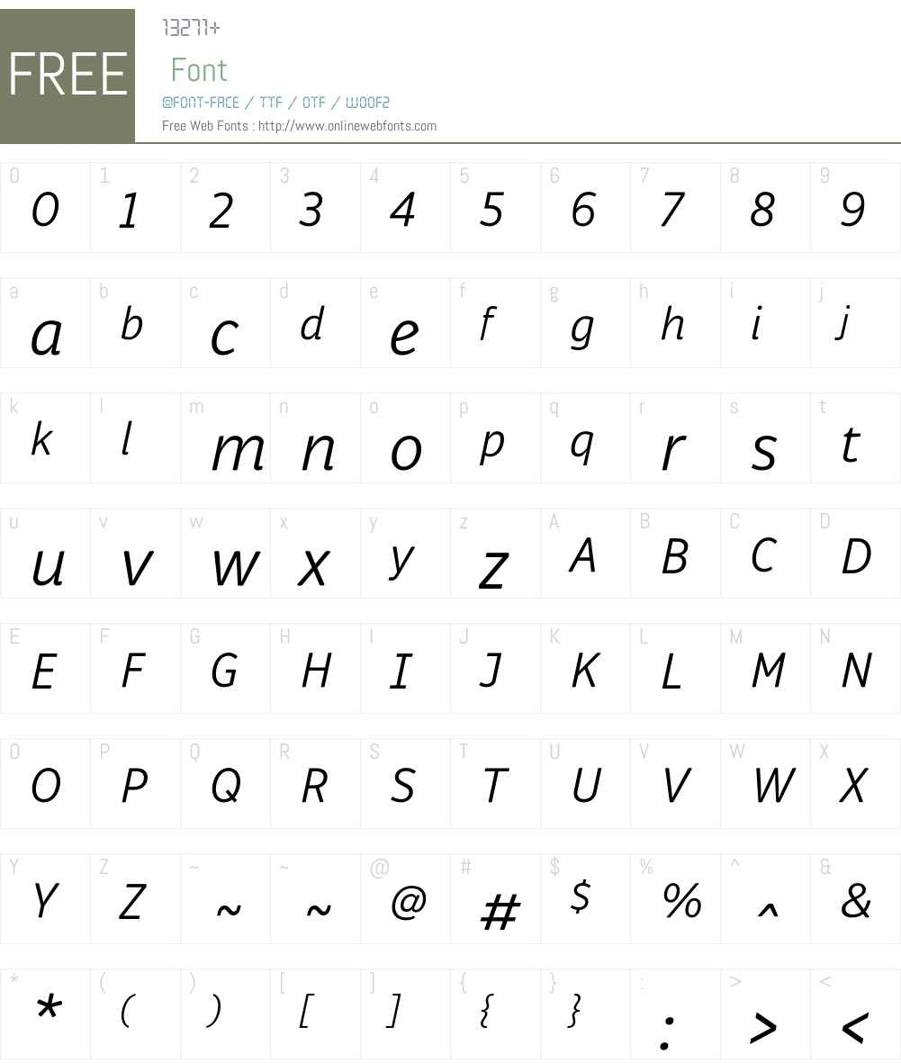 Respublika FY Font Screenshots