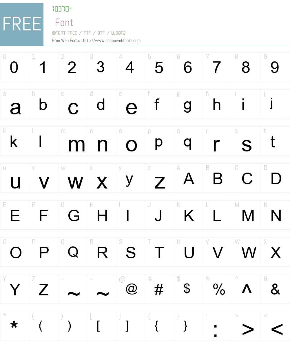 Tulasi Font Screenshots