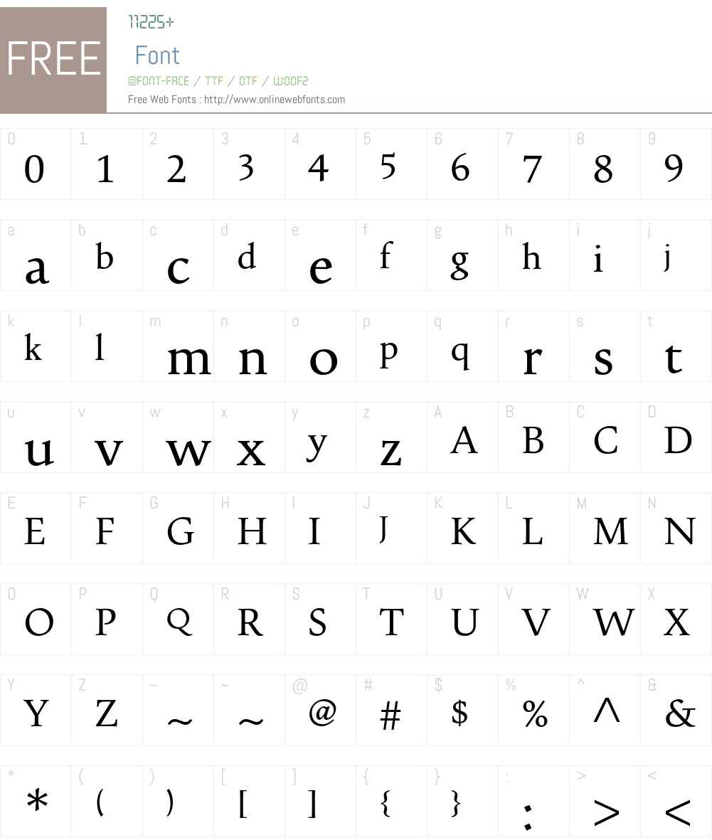 Pescadero Font Screenshots