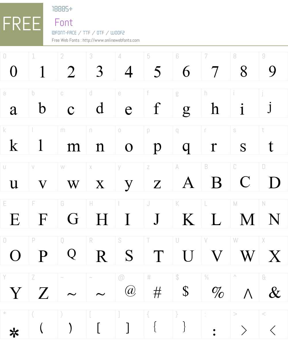 Lateef Font Screenshots
