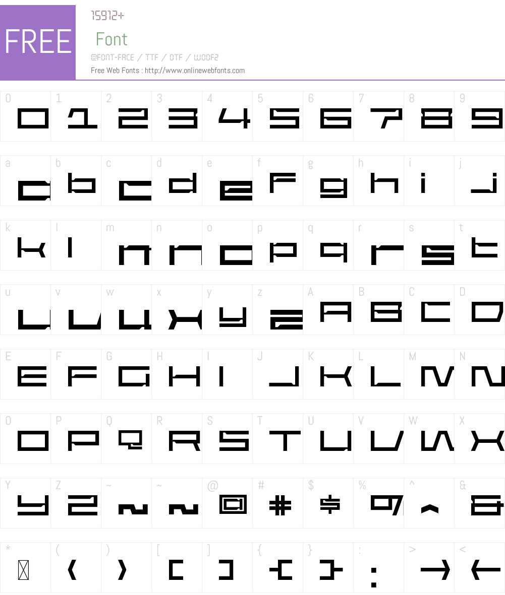 JakitaWideW00-Regular Font Screenshots