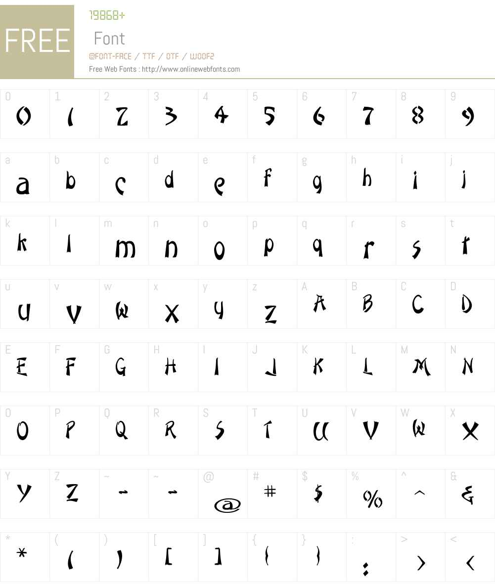 SMCHongKong Font Screenshots
