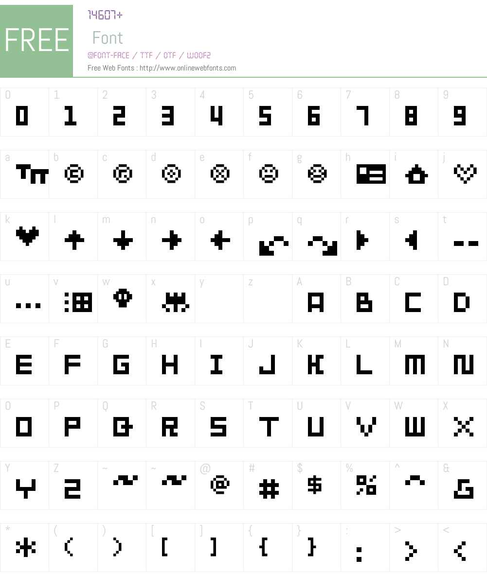 SP Abit 01 Font Screenshots
