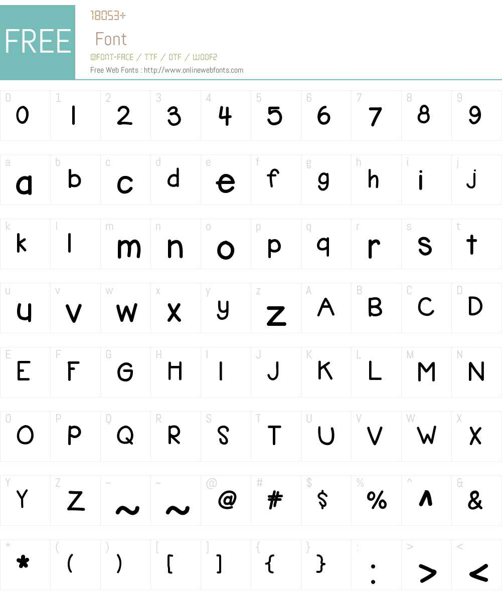 KBbubblegum Font Screenshots