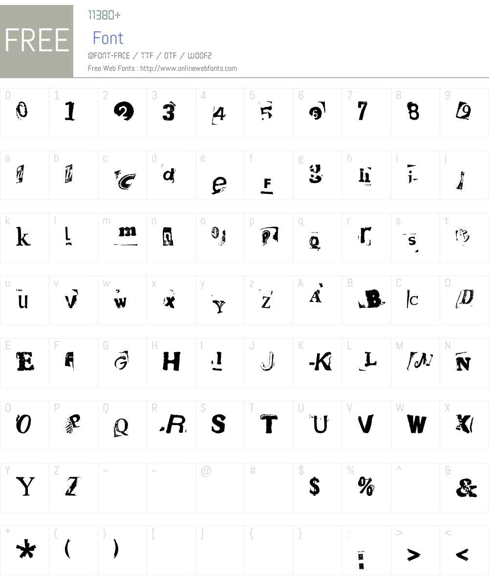 HotPlate LT Std 7 Font Screenshots