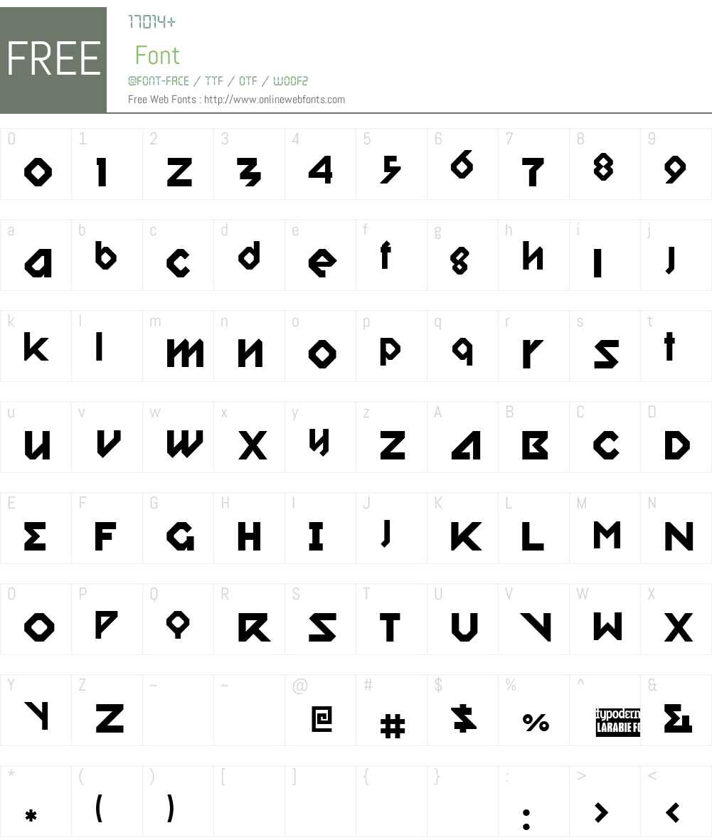 Relish Gargler Font Screenshots