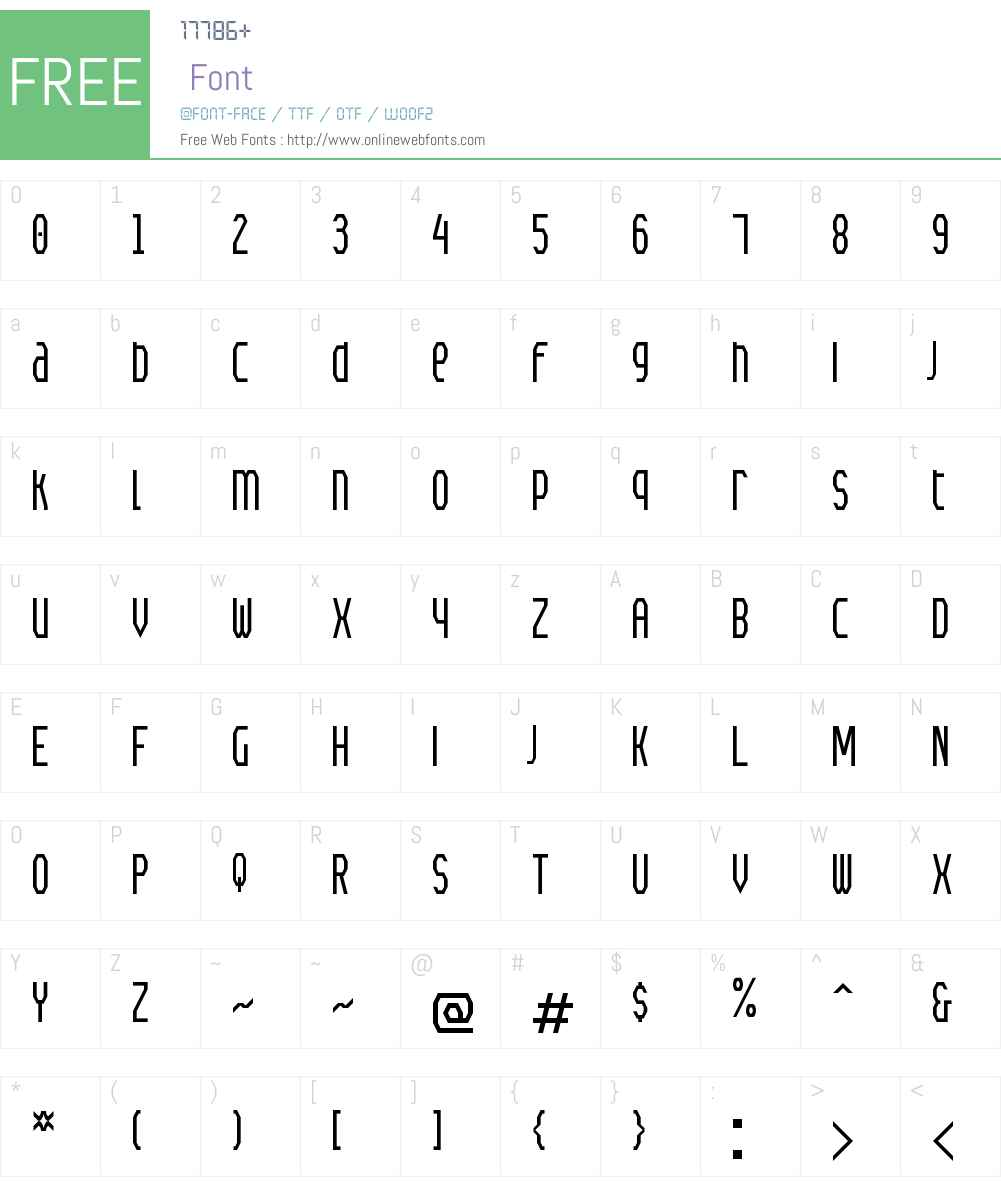 Meyer Gothic Unicase NBP Font Screenshots