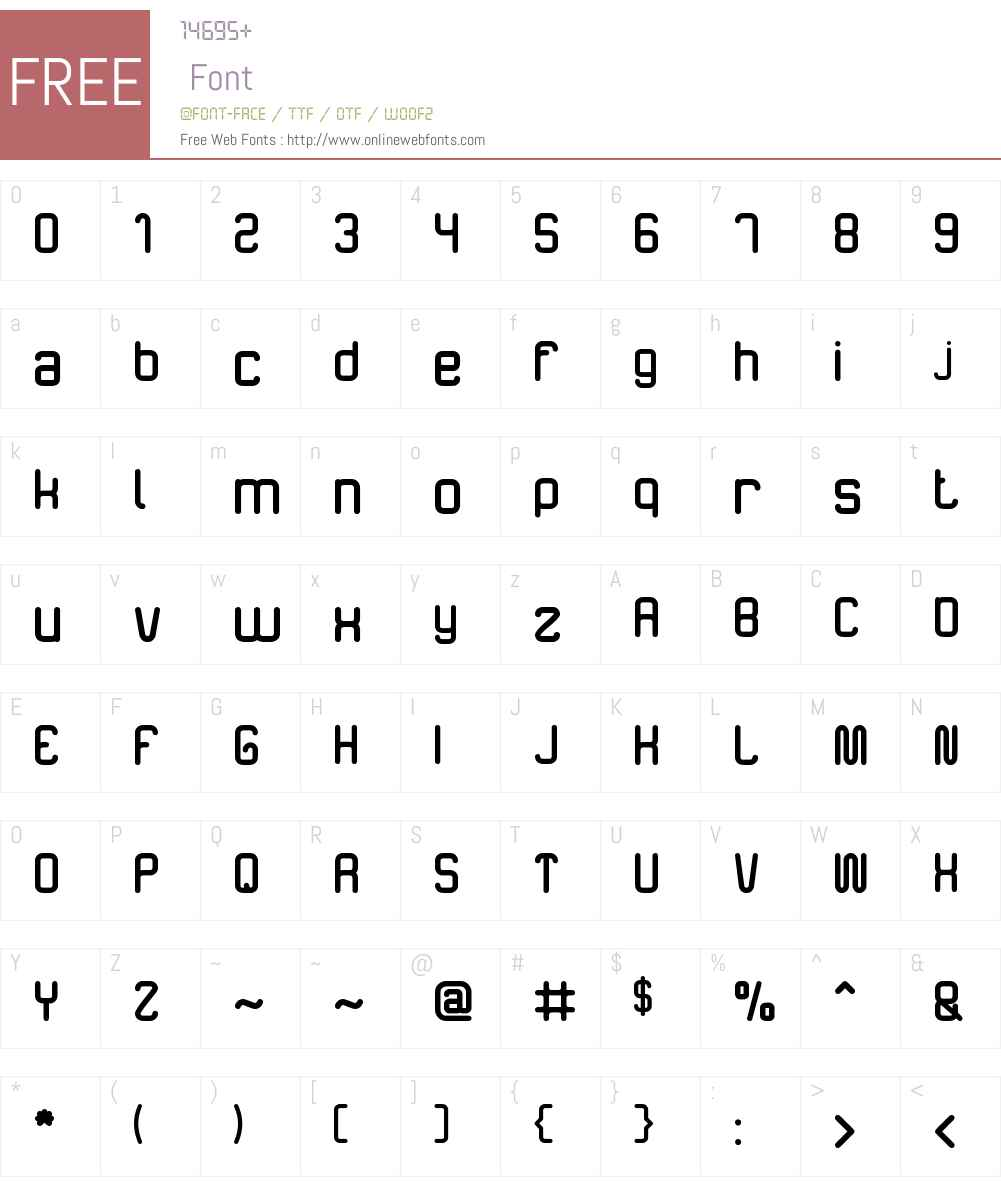 The Happiness Font Screenshots