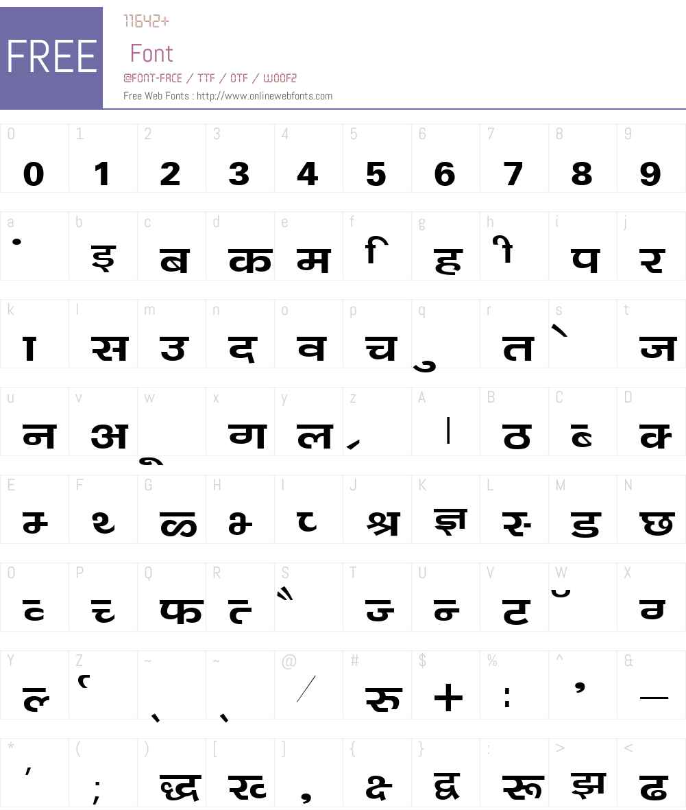 Kanika Font Screenshots