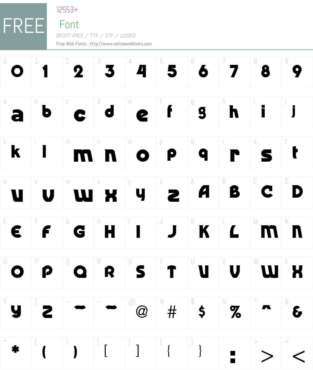 Rondo Font Screenshots