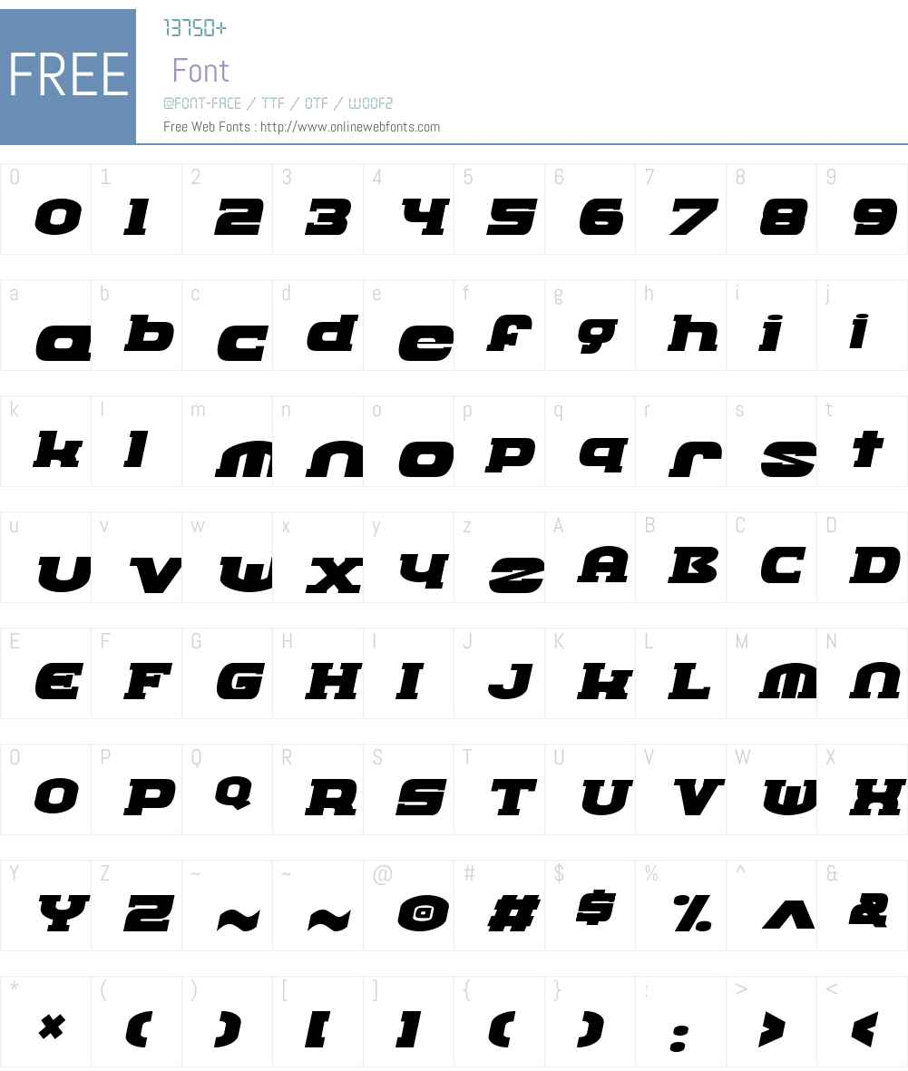 GnoSerifW00-Italic Font Screenshots