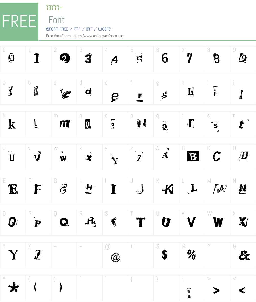 HotPlate LT Std 9 Font Screenshots