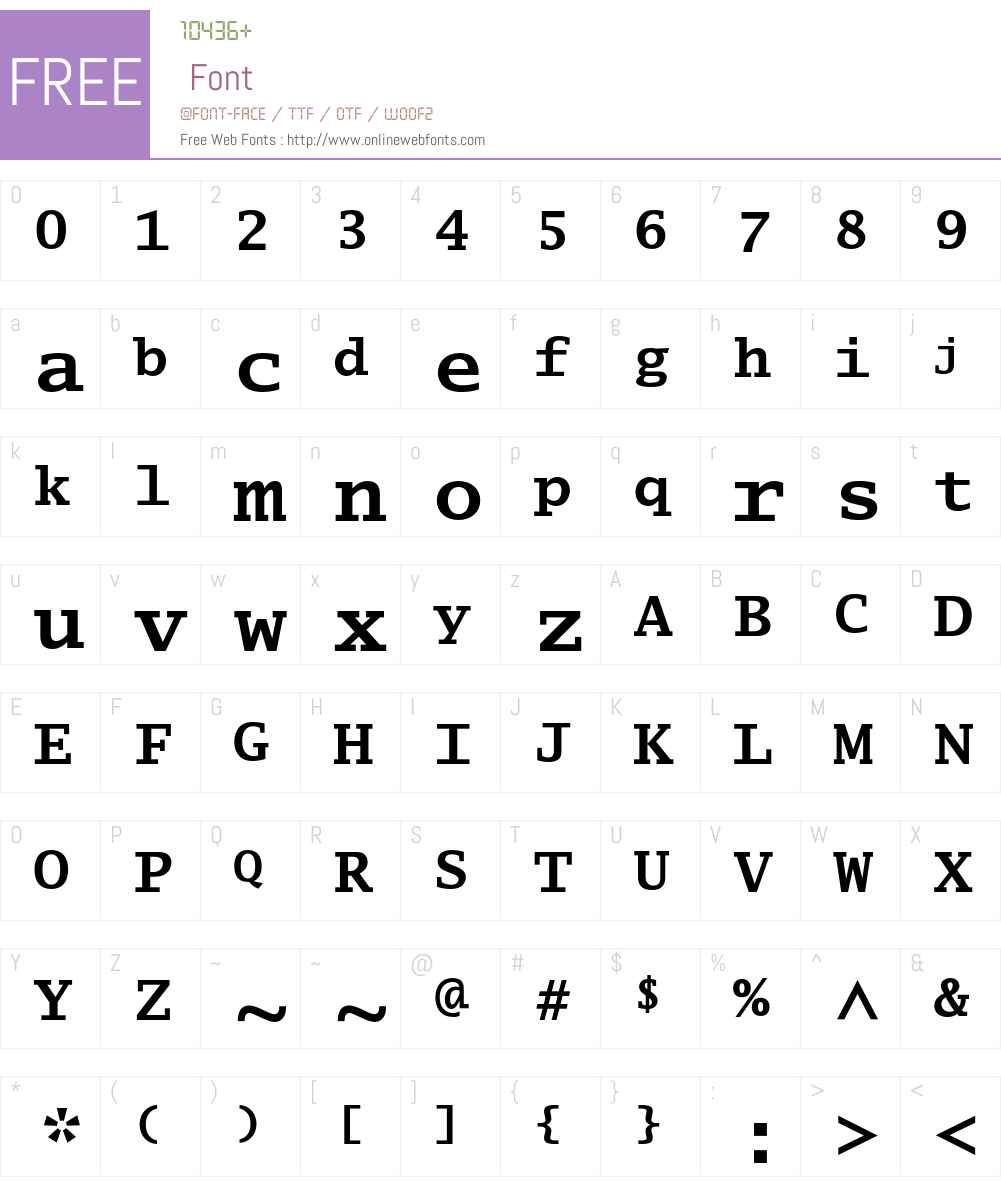 Lucida Typewriter Std Font Screenshots