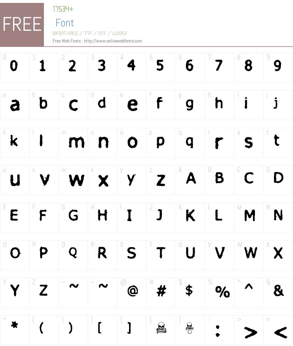 finitimus iungo Font Screenshots