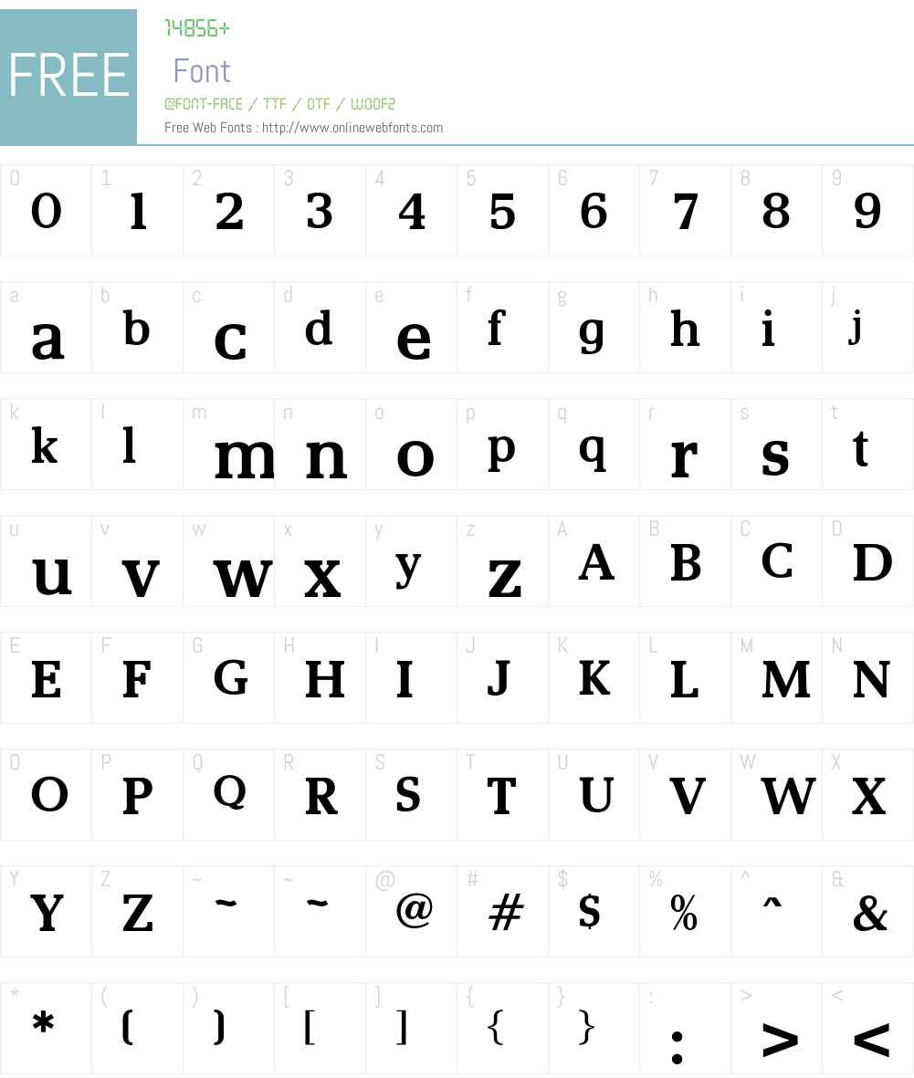 OPTIRemy Font Screenshots