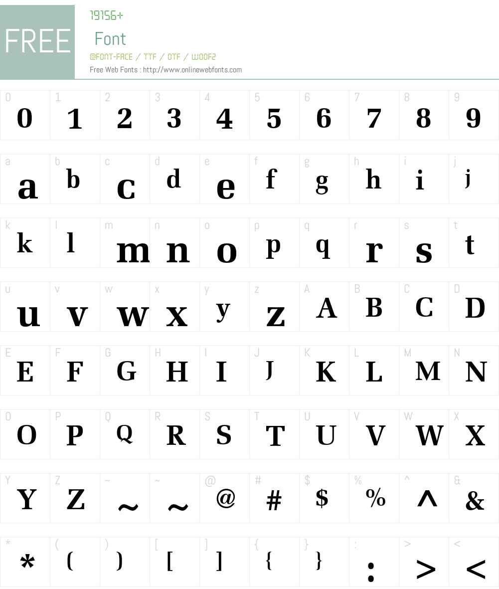 Melior LT Std Font Screenshots