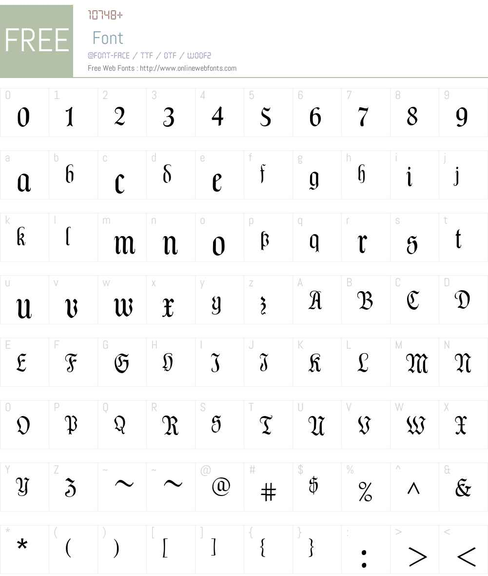 LinotypeDalaW01-Text Font Screenshots