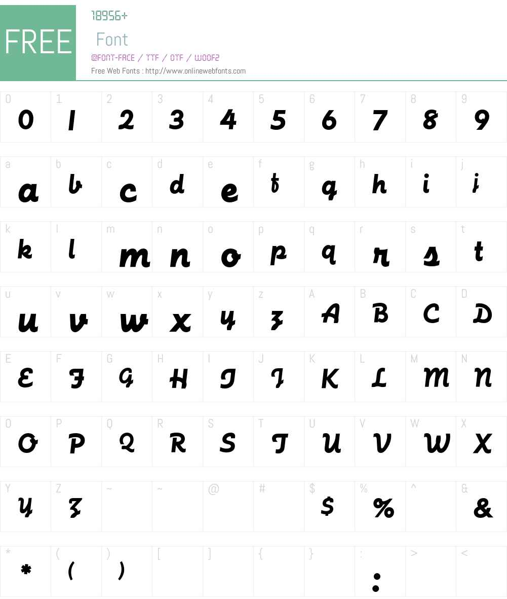 FuturaScriptEF Font Screenshots