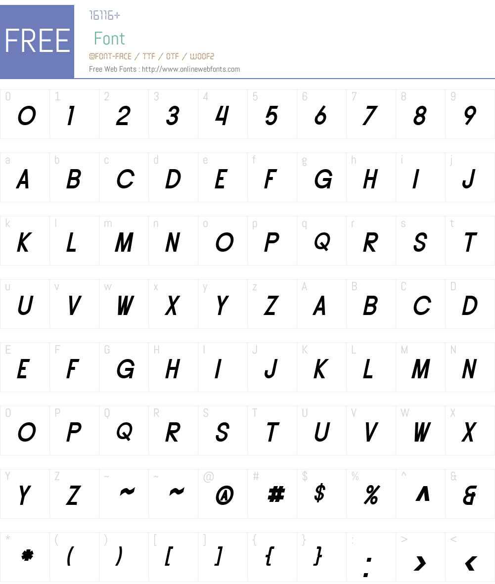 SF Buttacup Lettering Font Screenshots