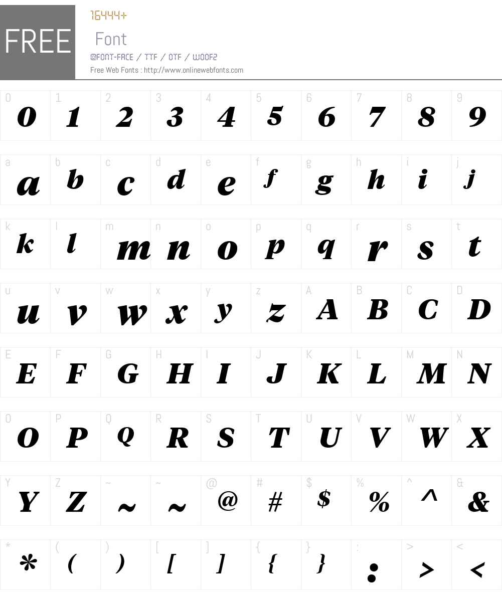 Copyright Klim Type Foundry Font Screenshots