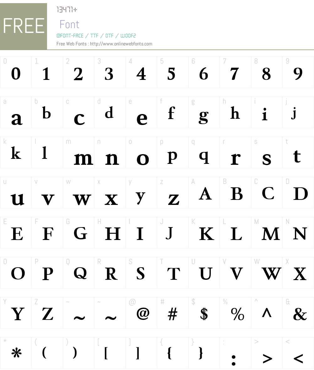 WinthorpeW00-Bold Font Screenshots