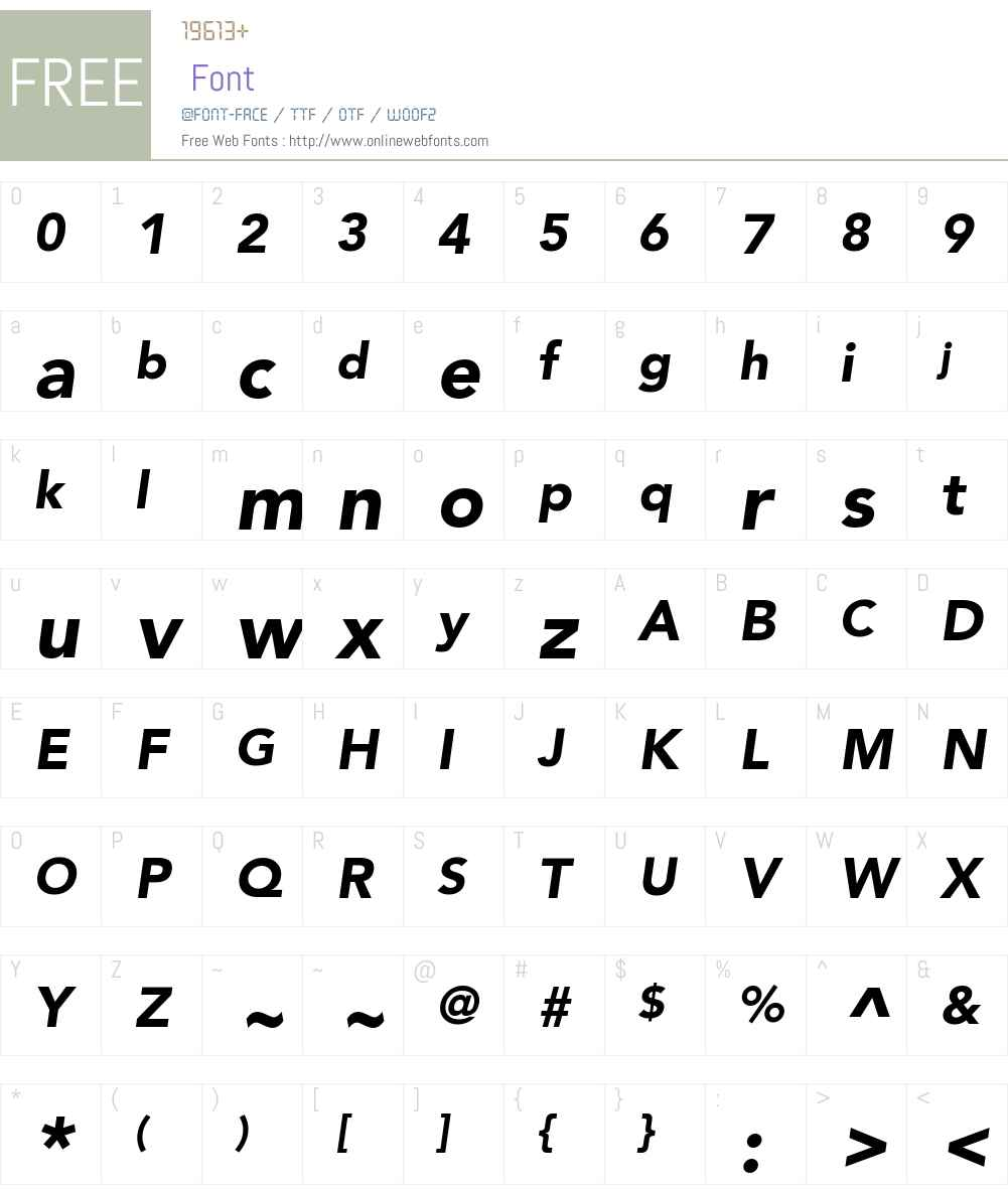 Avenir LT Std 65 Medium Font Screenshots