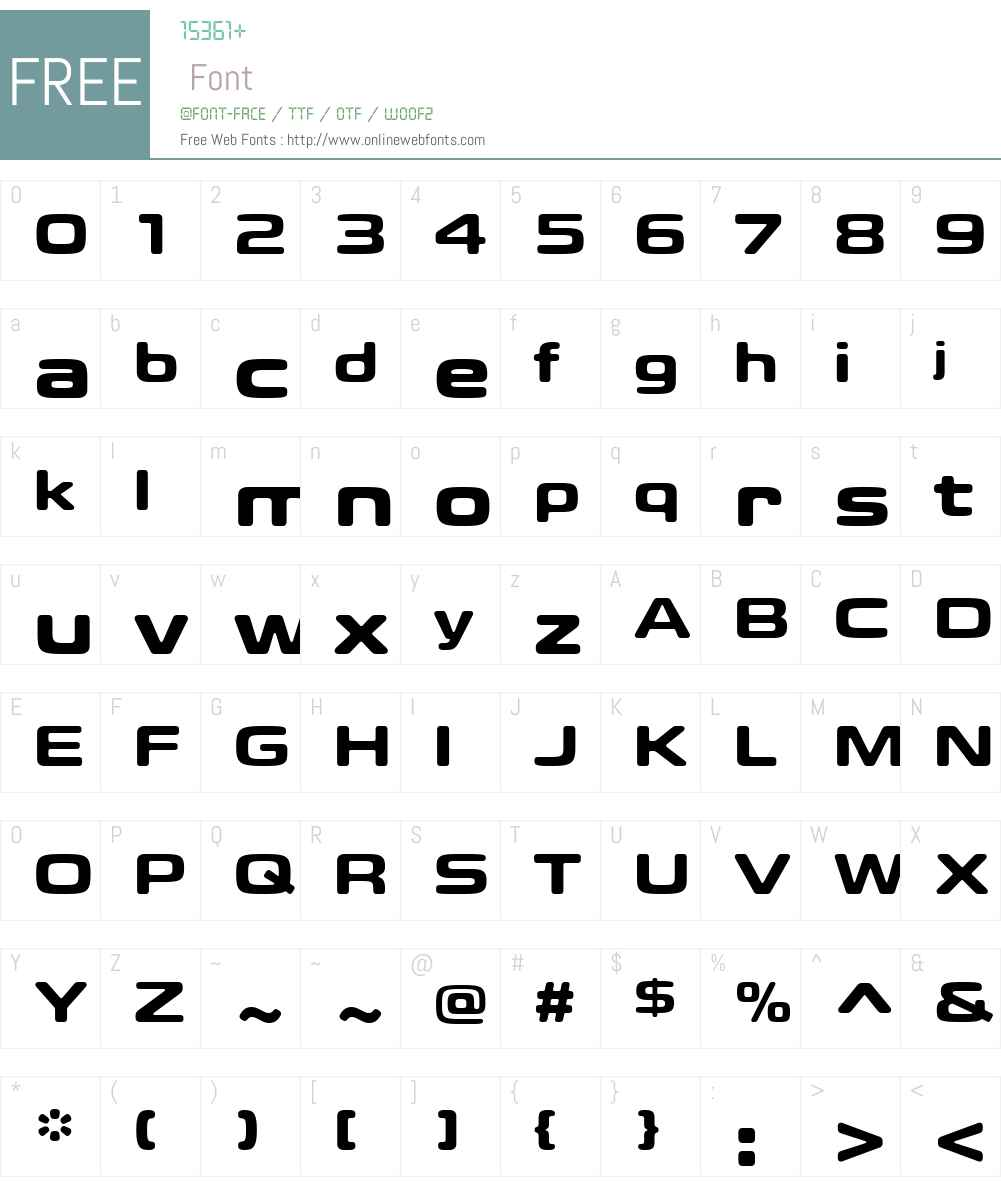 Eurostile Candy Font Screenshots