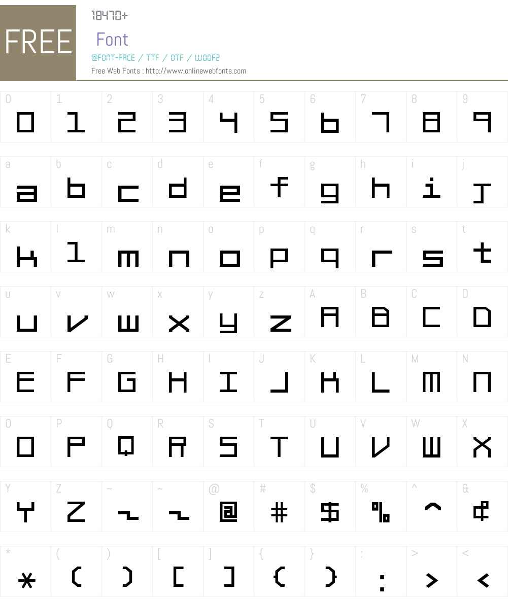 Braciola MS Font Screenshots