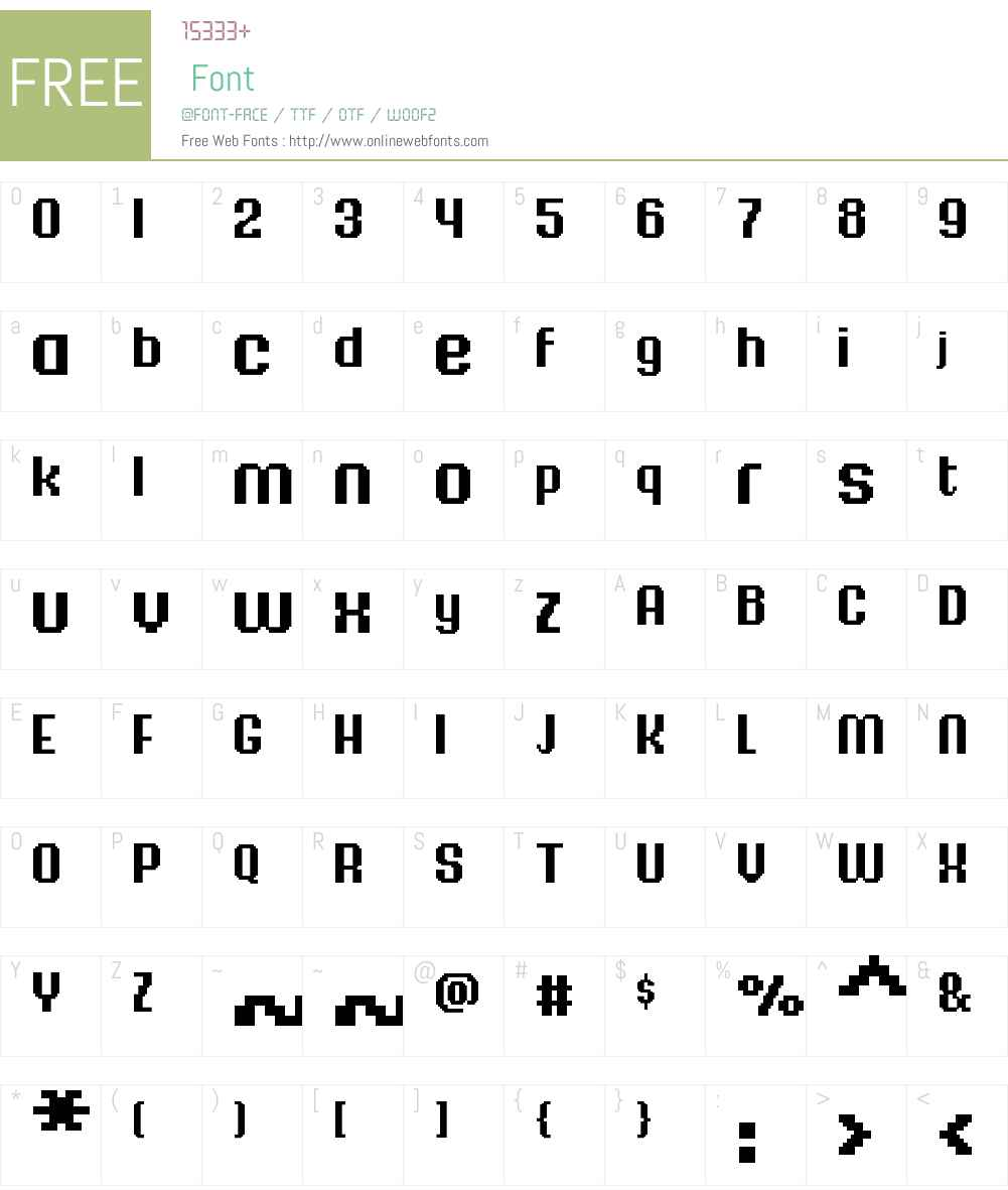 FFF Majestica Bold Font Screenshots