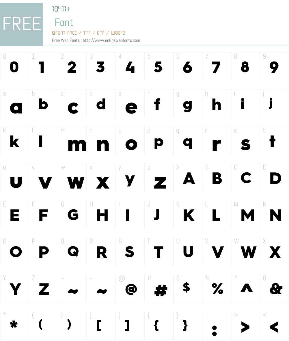 HurmeGeometricSans3W01-Blk Font Screenshots