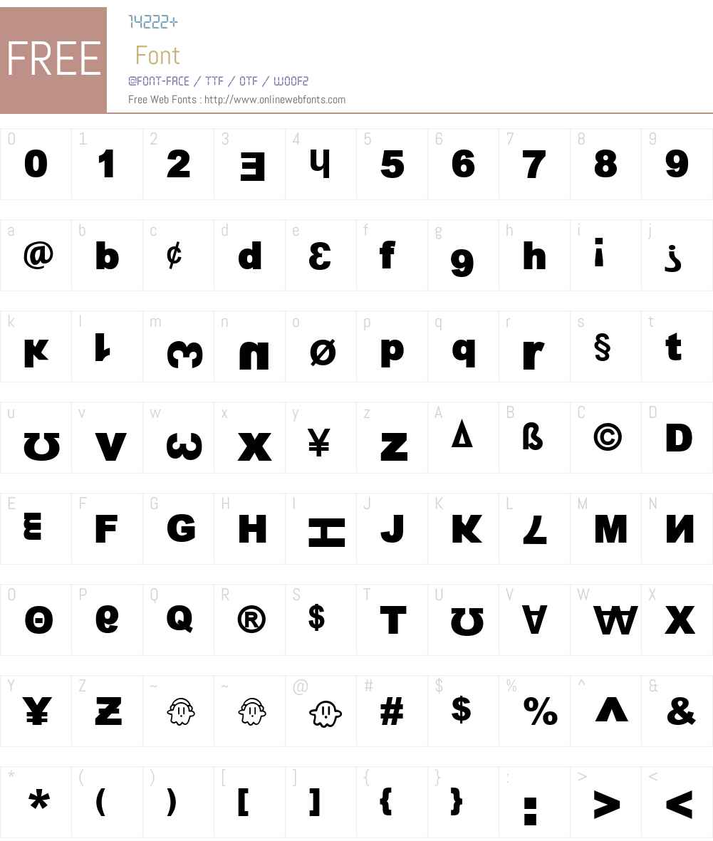 13_Fletcher Font Screenshots