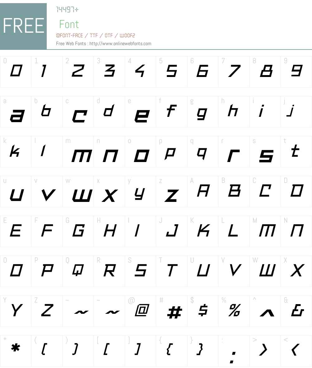 CCResistanceIsLoweredW-It Font Screenshots