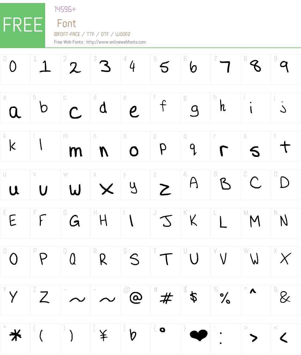 Aristocratically Cheap Font Screenshots