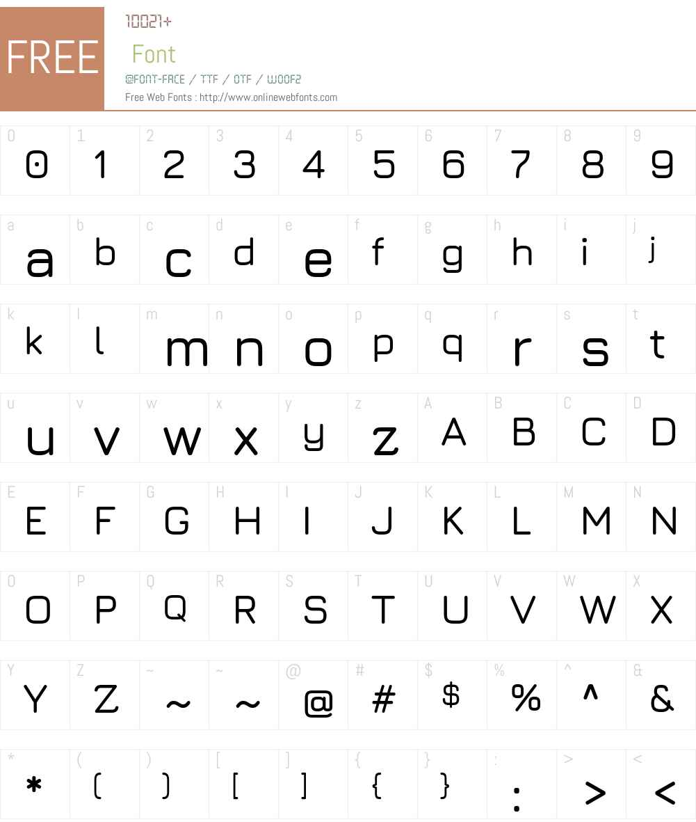 Jura SemiBold Font Screenshots