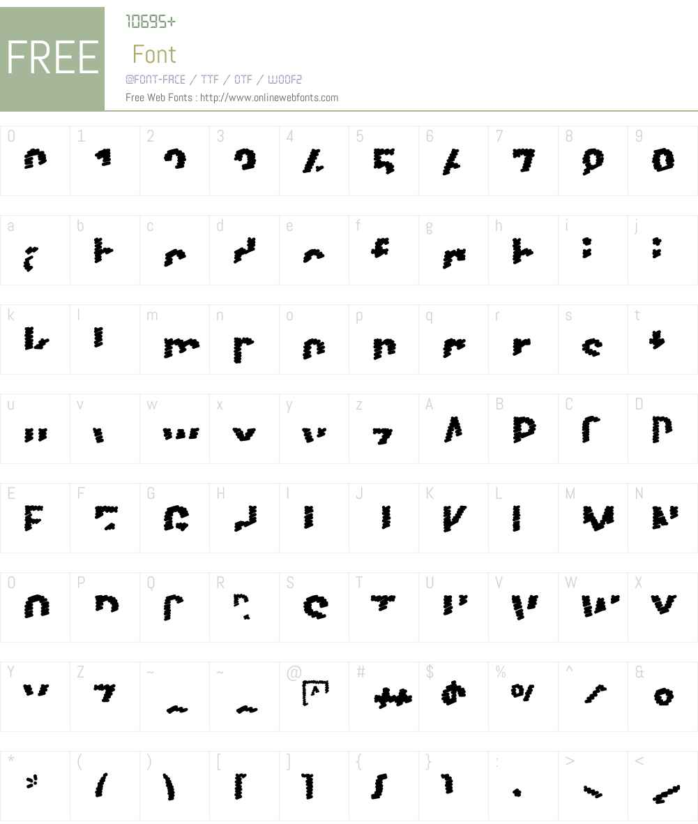 Scribble Font Screenshots