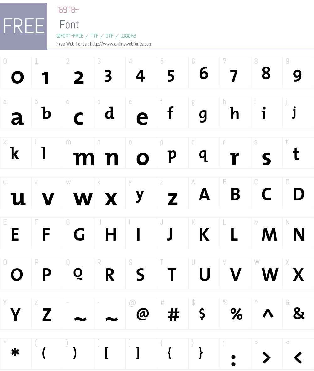 TMixBold Font Screenshots