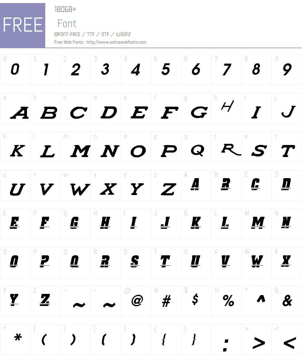 SUPER_CHARGERS Font Screenshots