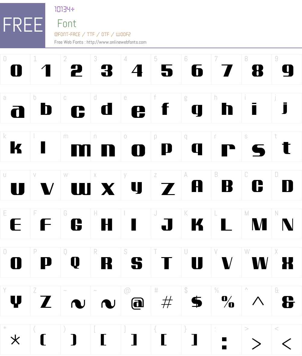 Ptarmigan Font Screenshots
