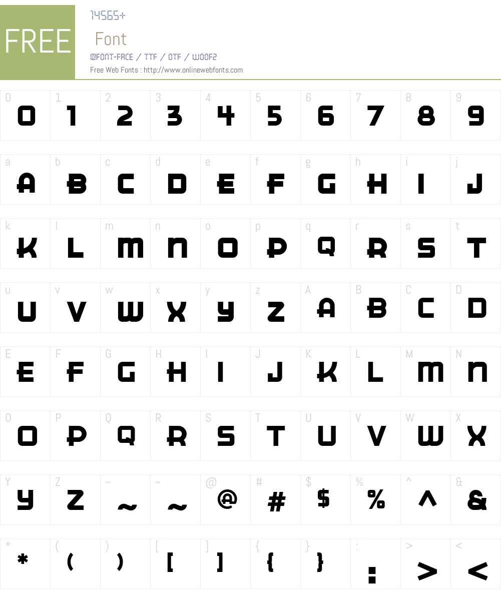 ITCCuppaJoeW01-Regular Font Screenshots