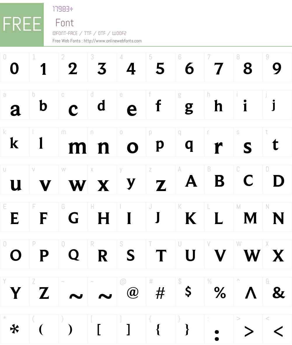 BeaufortforLOL-Bold Font Screenshots