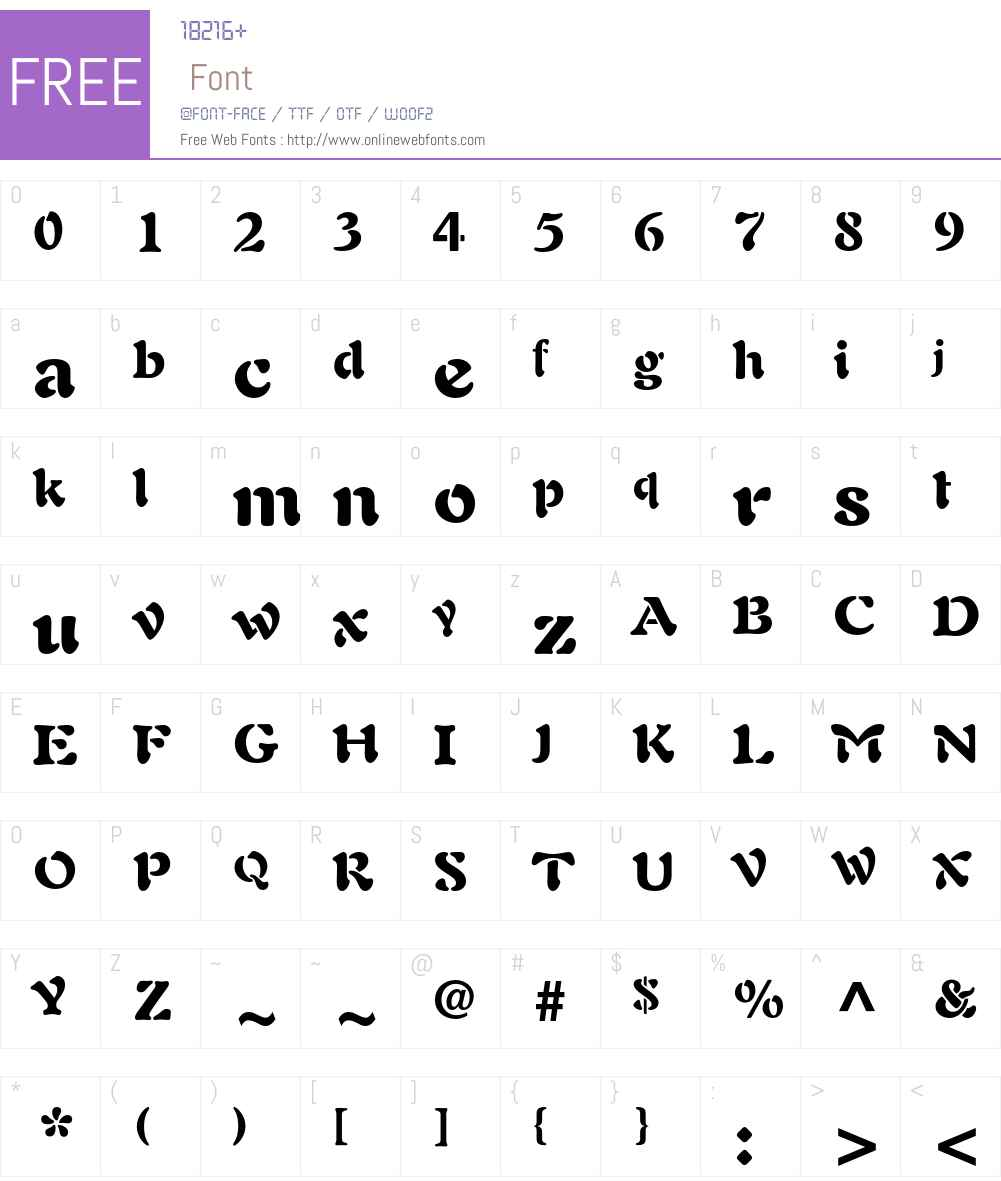 Auriol LT Std Font Screenshots