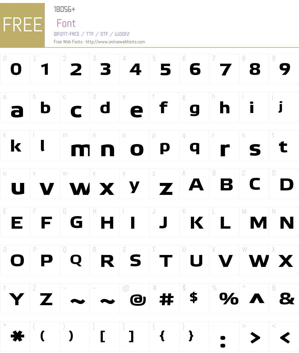Etelka Wide Text Pro Font Screenshots