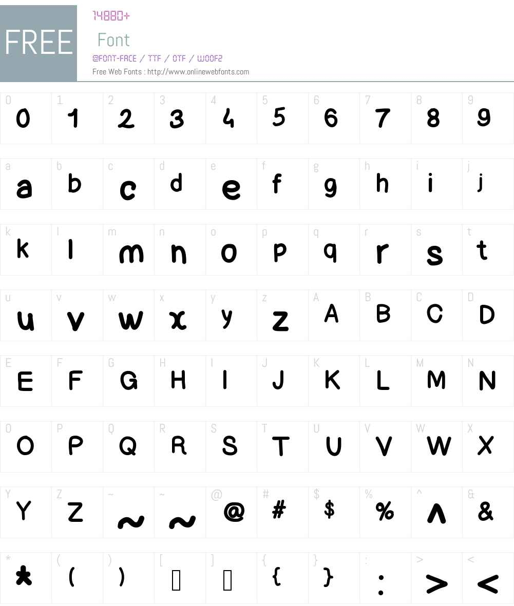 Lettregaelle Font Screenshots