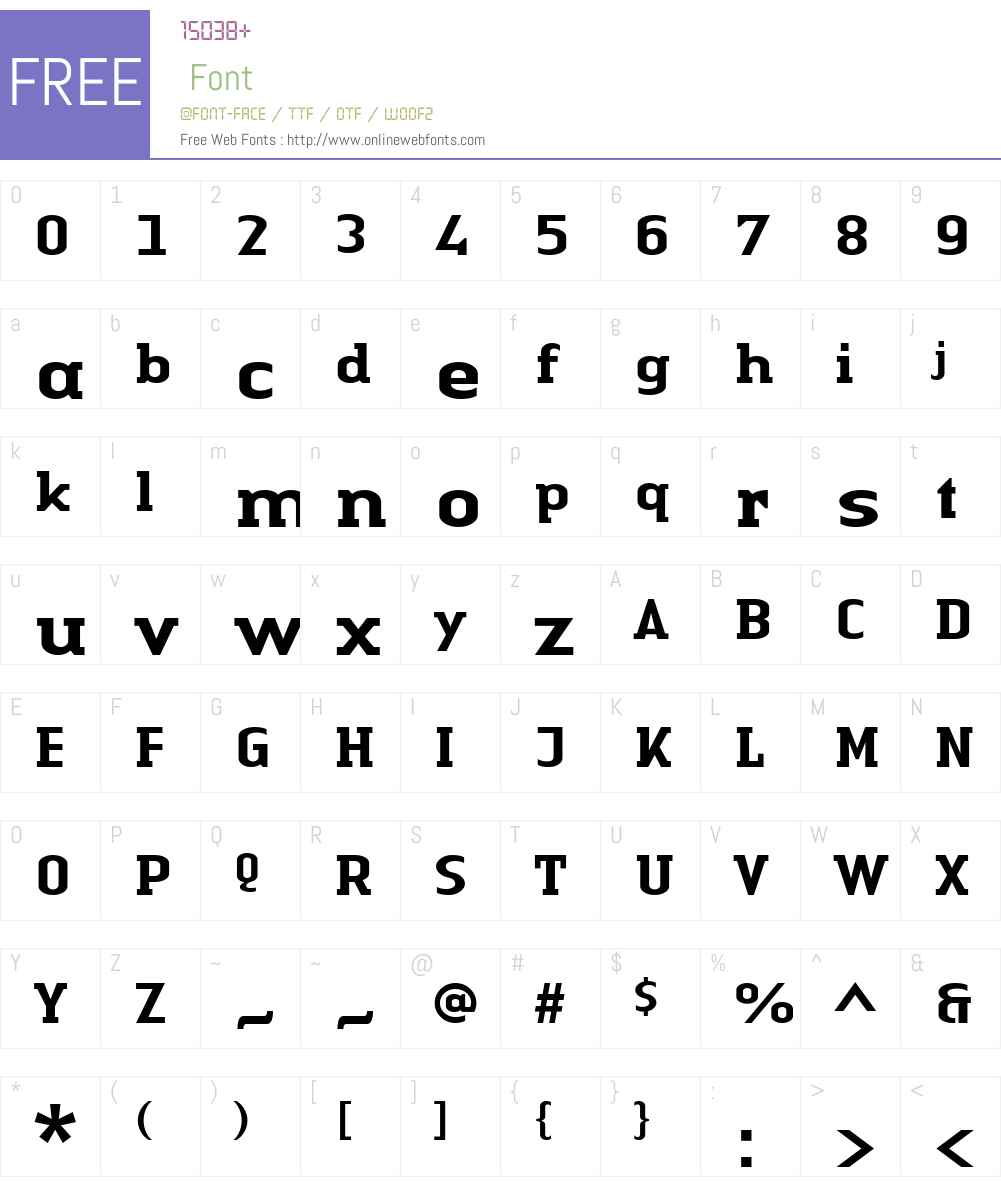 LTAuthenticSerif Medium Font Screenshots