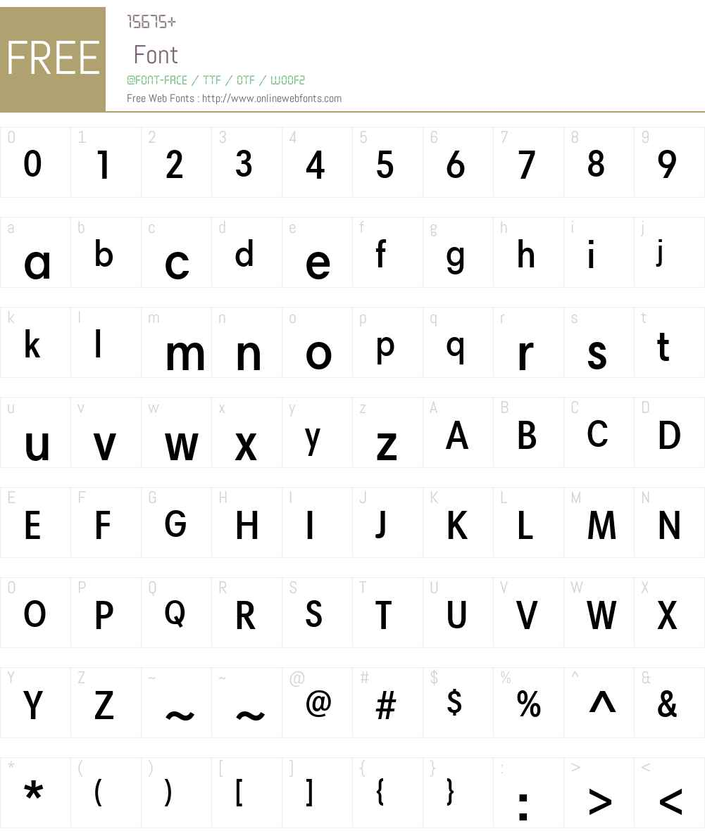HarmoniaSansW01-SemiBdCond Font Screenshots