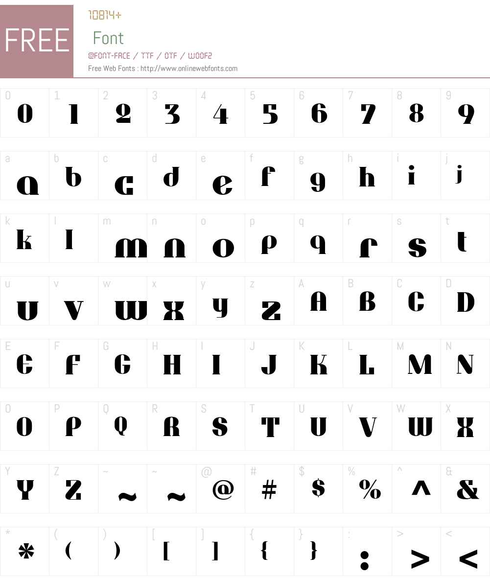 TuxedoExtraBoldW00-Regular Font Screenshots