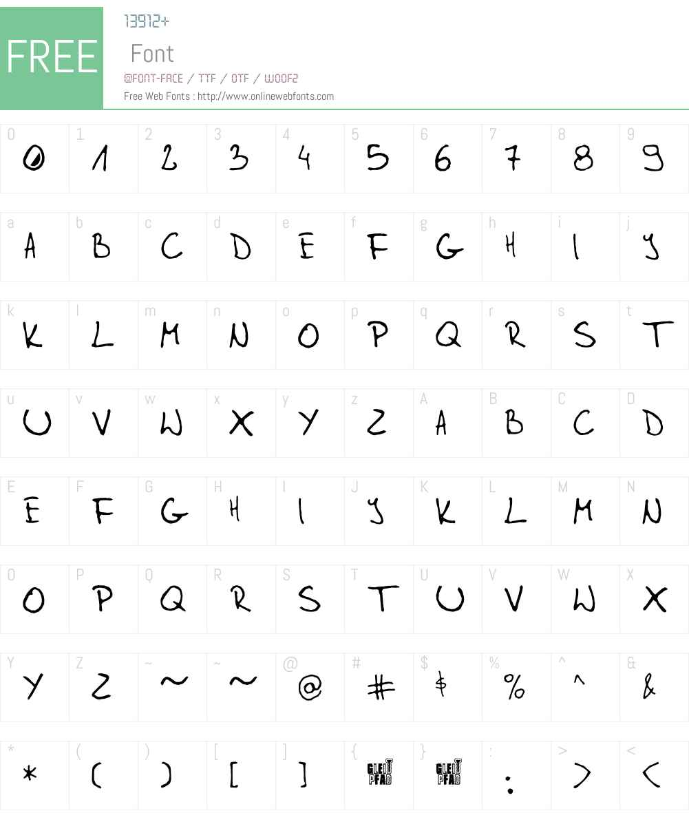 mikfont Font Screenshots